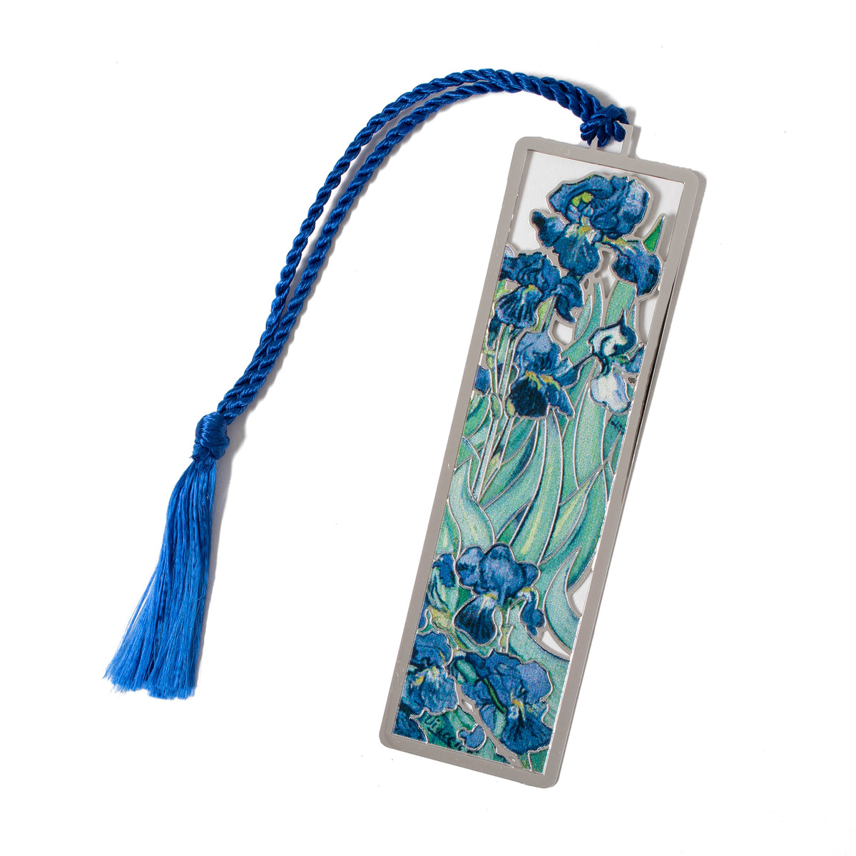 Van Gogh Irises Metal Bookmark | Getty Store