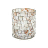 Mosaic Glass Votive Candle Holder