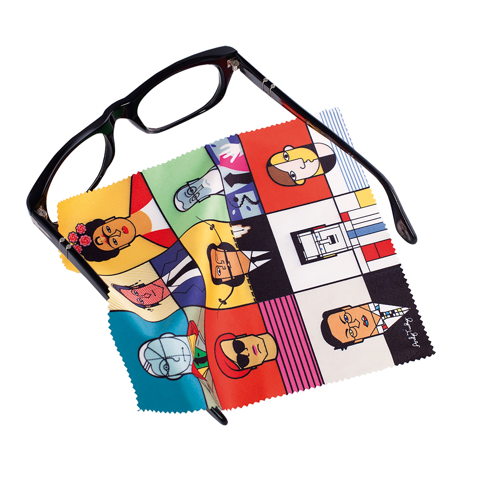 Great Modern Artists Lens Cloth
