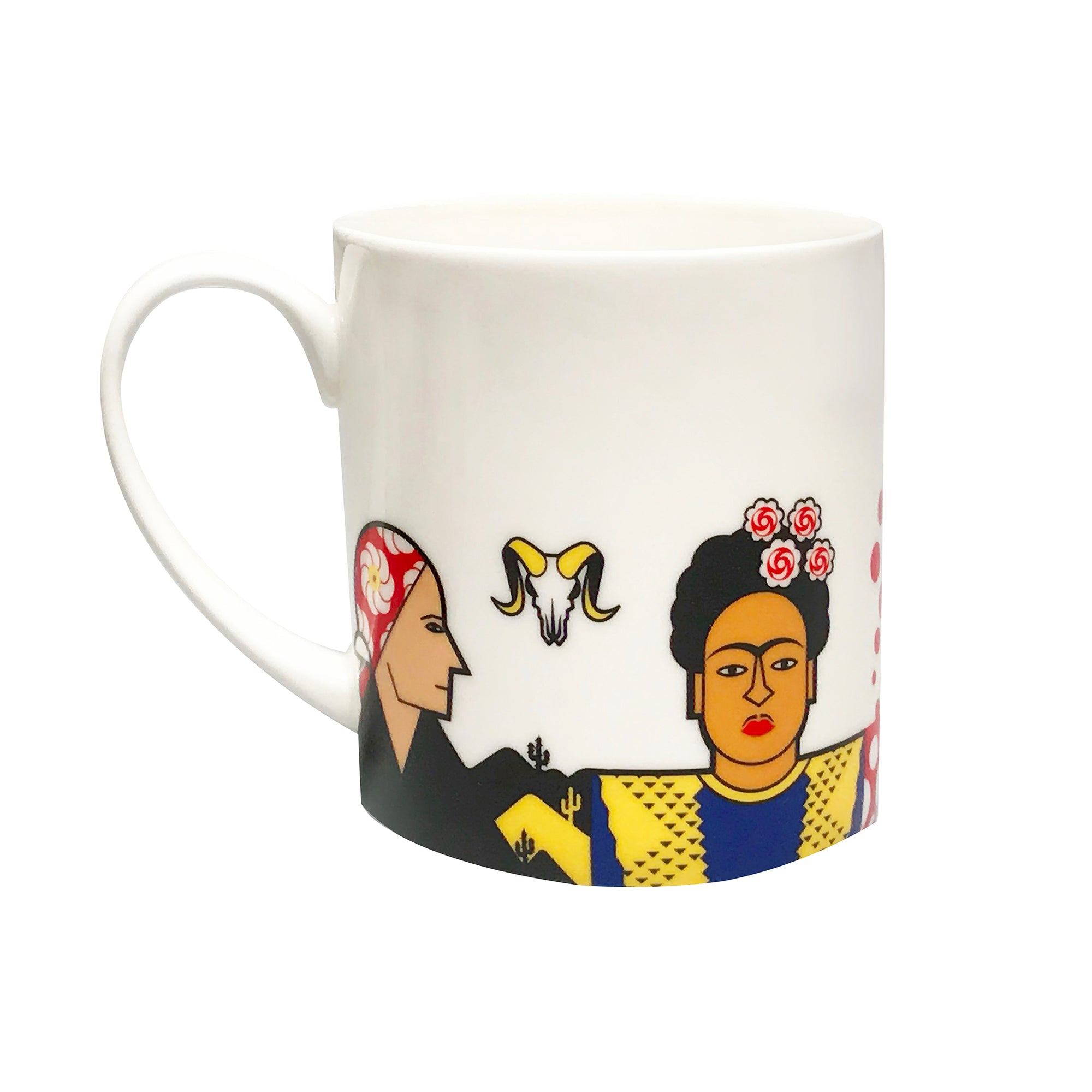 Great Modern Artists Porcelain Mug - Women