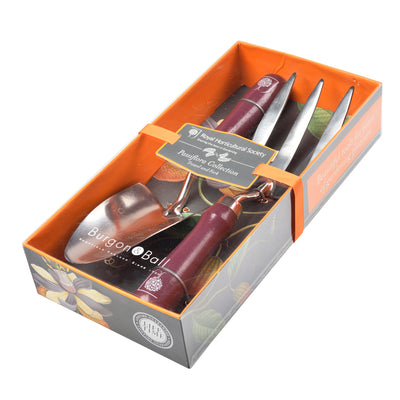 Fork and Trowel Gardening Set - Passiflora Design