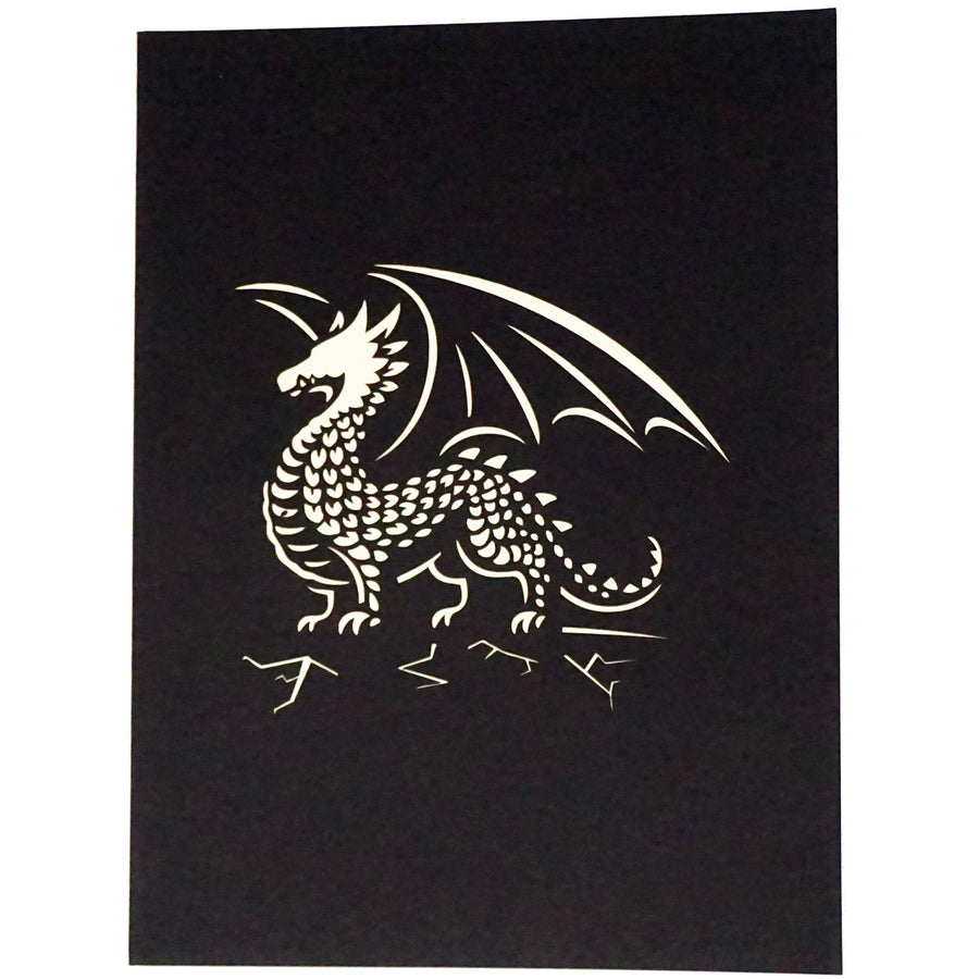 Pop-Up Notecard - Dragon