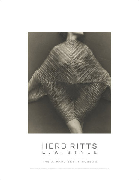 Herb Ritts Wrapped Torso, Los Angeles Poster