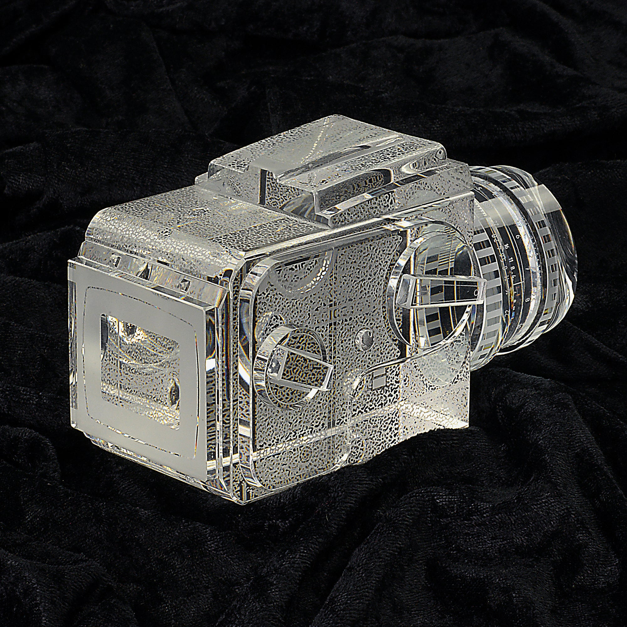 Crystal Glass Replica Hasselblad Camera | Getty Store