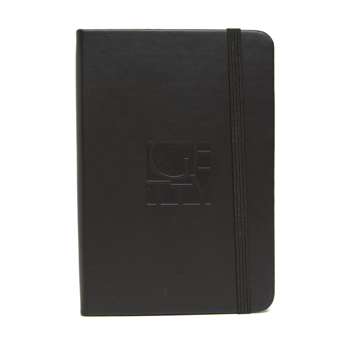 Getty Wordmark Journal-Pocket Size-Black | Getty Store
