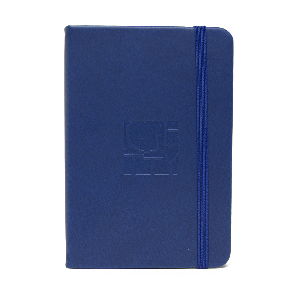 Getty Wordmark Journal-Pocket Size- Blue | Getty Store
