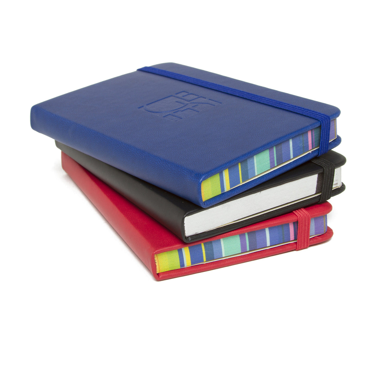 Getty Wordmark Journal-Pocket Size showing colorful edges | Getty Store