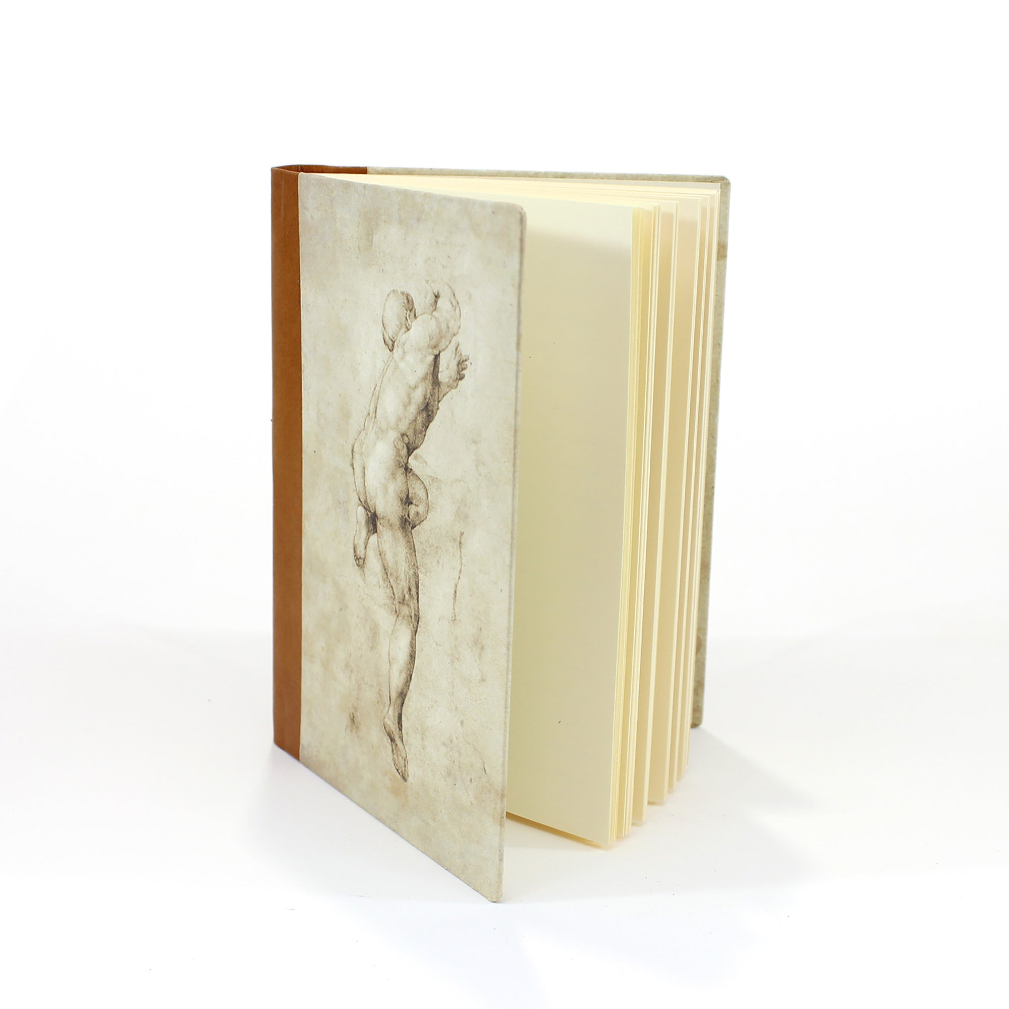 Leather Journal- Michelangelo's Study of a Male Nude | Getty Store