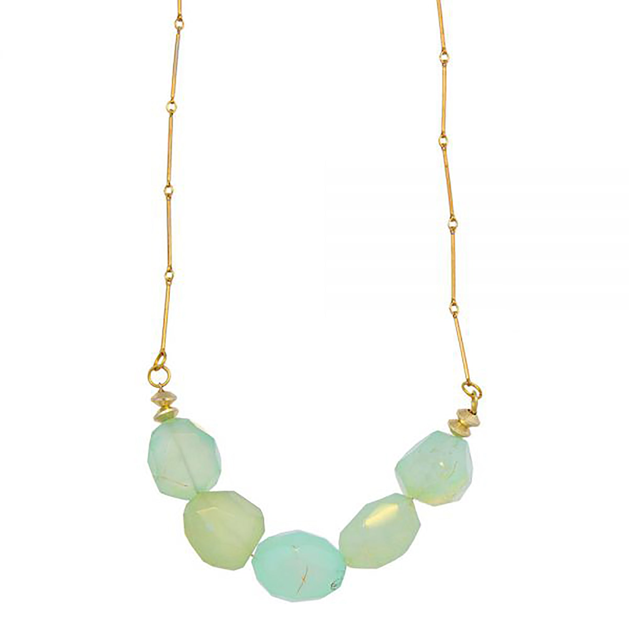 Necklace with Agate Beads | Getty Store