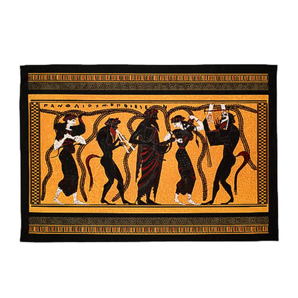 Greek Pots Cotton Tea Towel
