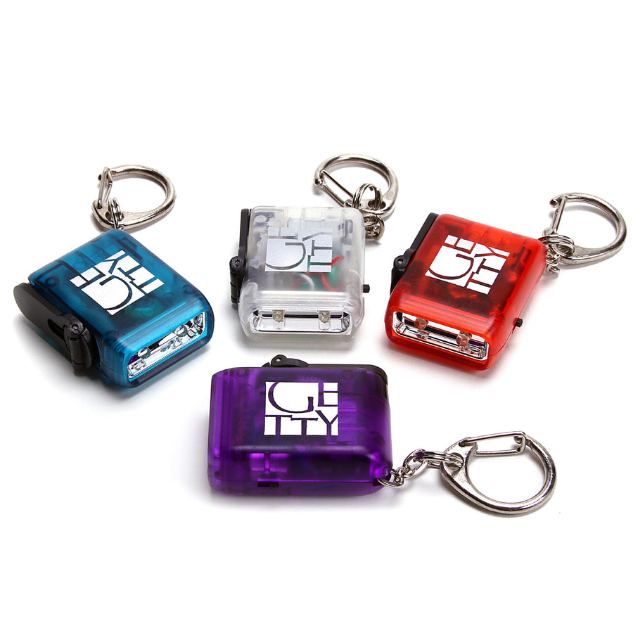 Getty Flashlight Keychain