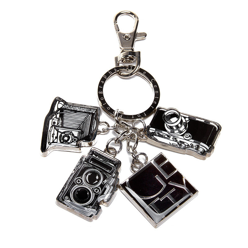 Getty Wordmark Camera Keychain