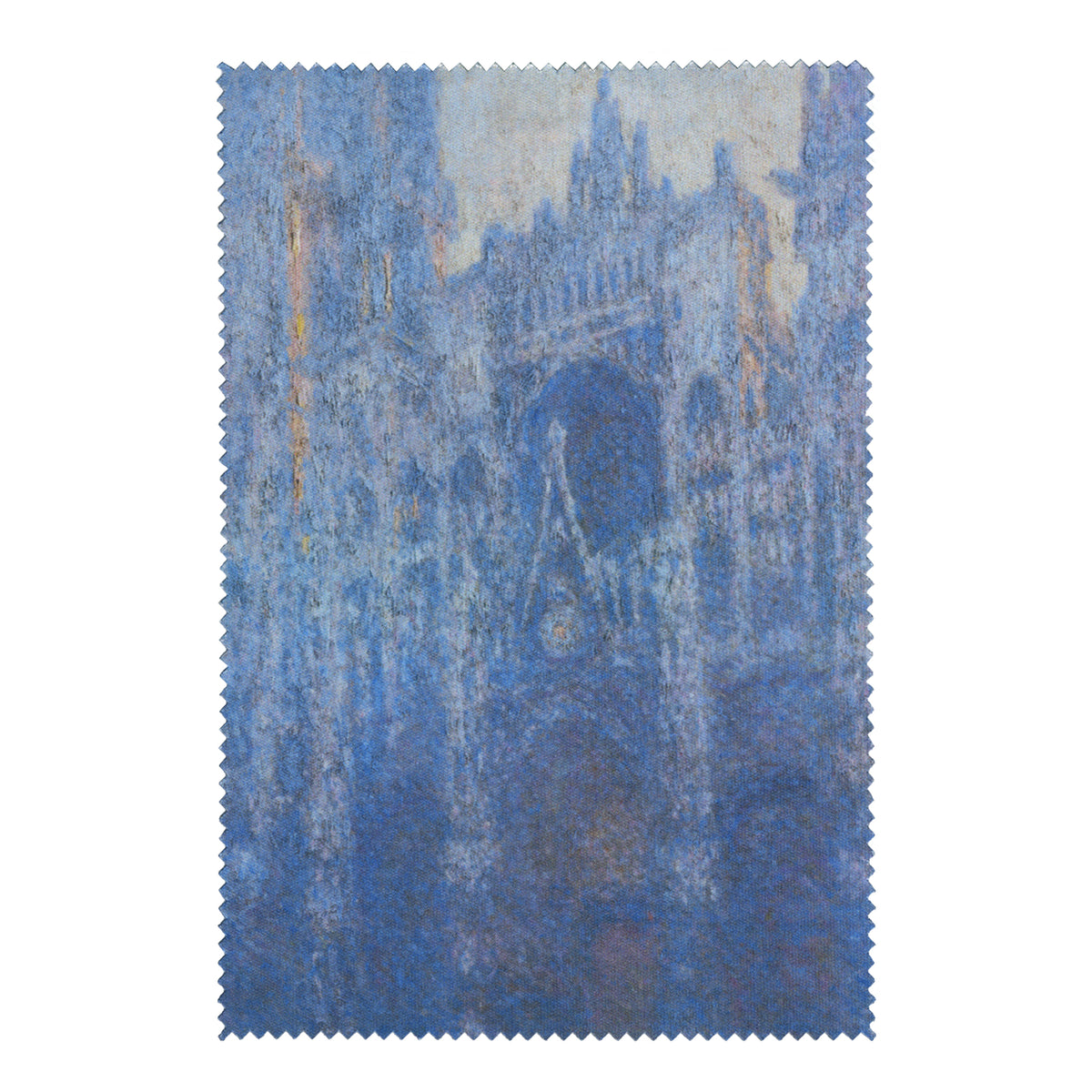 Monet-The Portal of Rouen Cathedral in Morning Light-Lens Cloth + Postcard | Getty Store