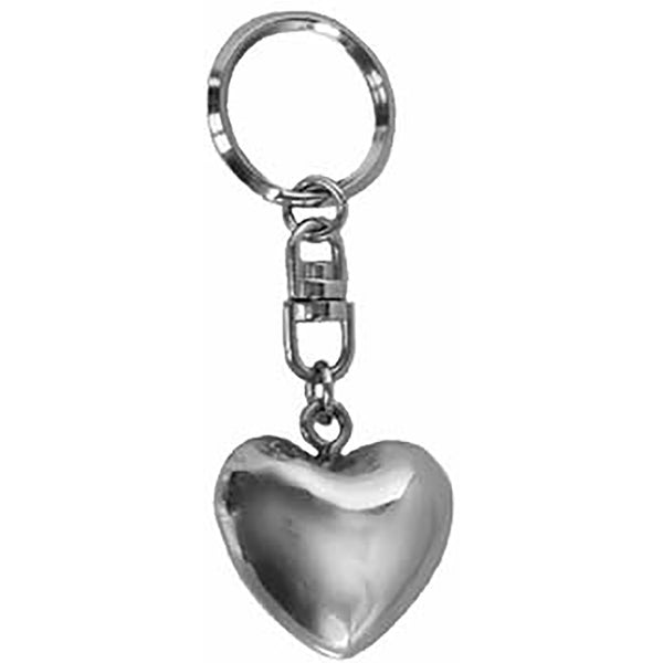 Small Chiming Heart Keychain