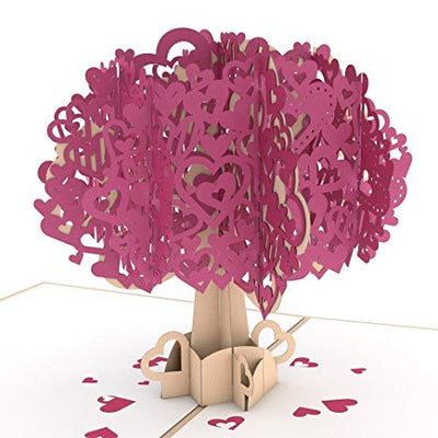 Pop-Up Valentine Card - Heart Tree