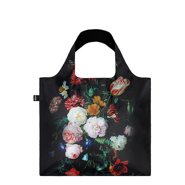 Tote Bag - Jan Davidsz de Heem's <i>Still Life with Flowers in a Glass Vase</i>