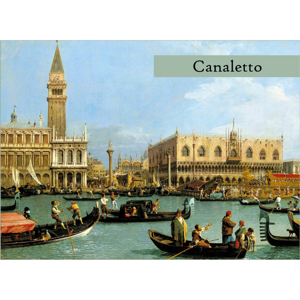 Boxed Note Cards - Canaletto