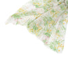 Lightweight Floral Scarf - Yellow and Green