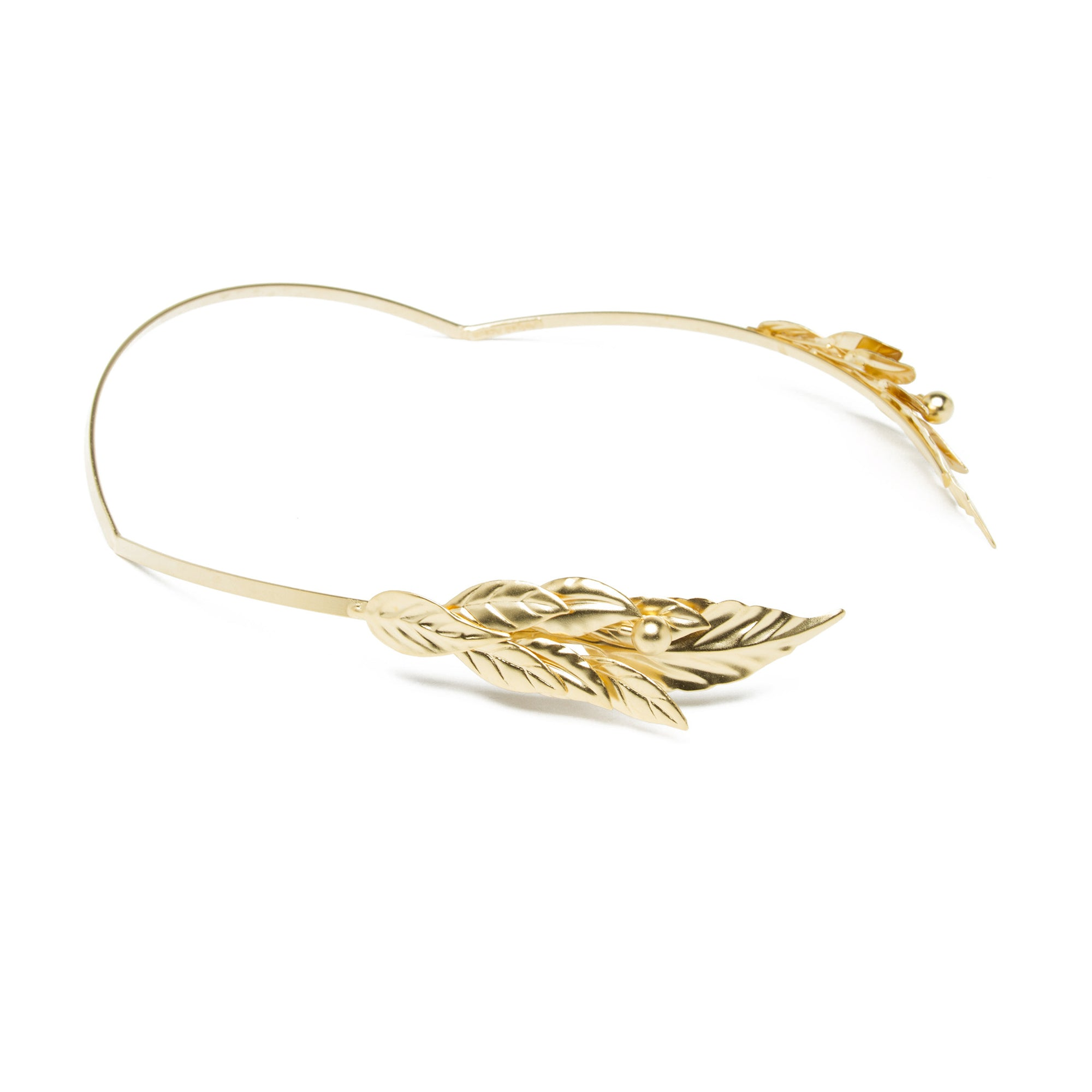 Laurel Wreath - Gold Plated