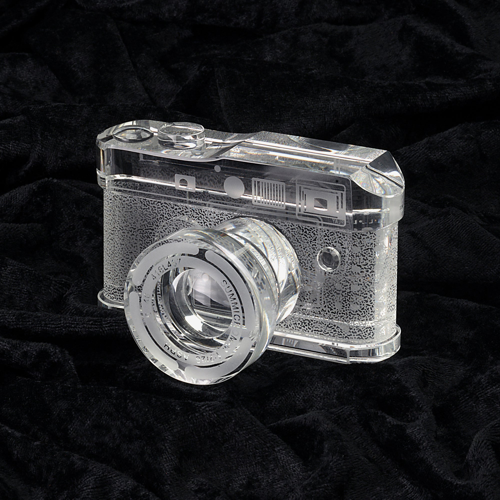 Crystal Glass Replica of the Leica M9 camera