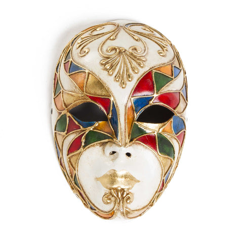 Venetian Mask - Full Face Arlecchino