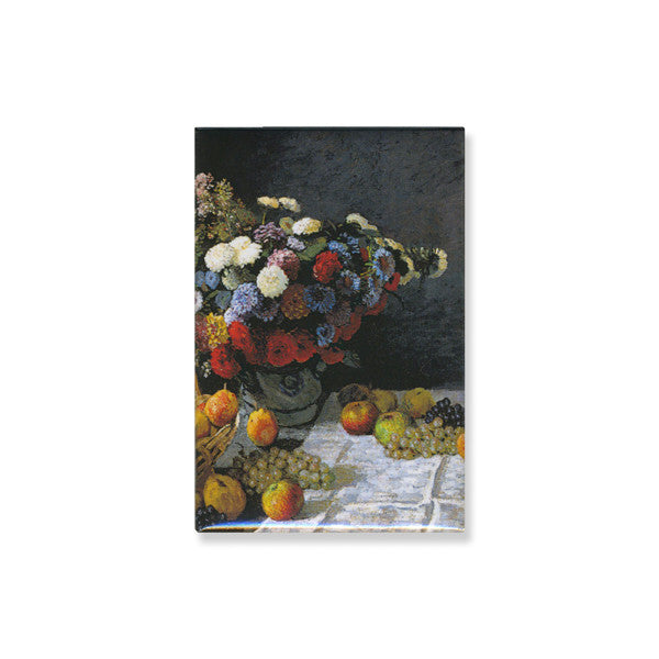 Magnet - Still Life with Flowers and Fruit