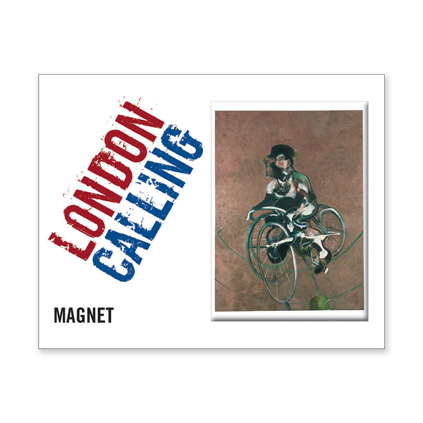 Francis Bacon Magnet - <i>Portrait of George Dyer Riding a Bicycle</i>