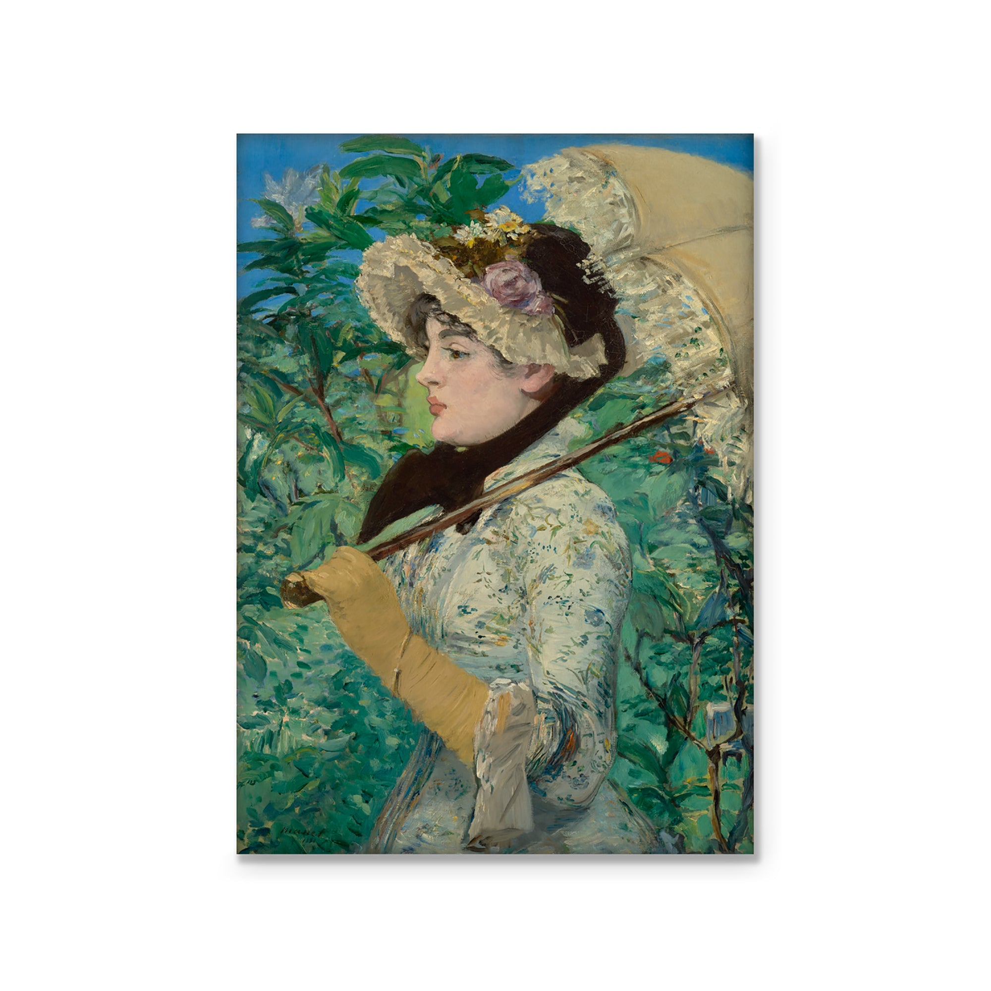 Magnet- Manet's Jeanne (Spring) | Getty Store