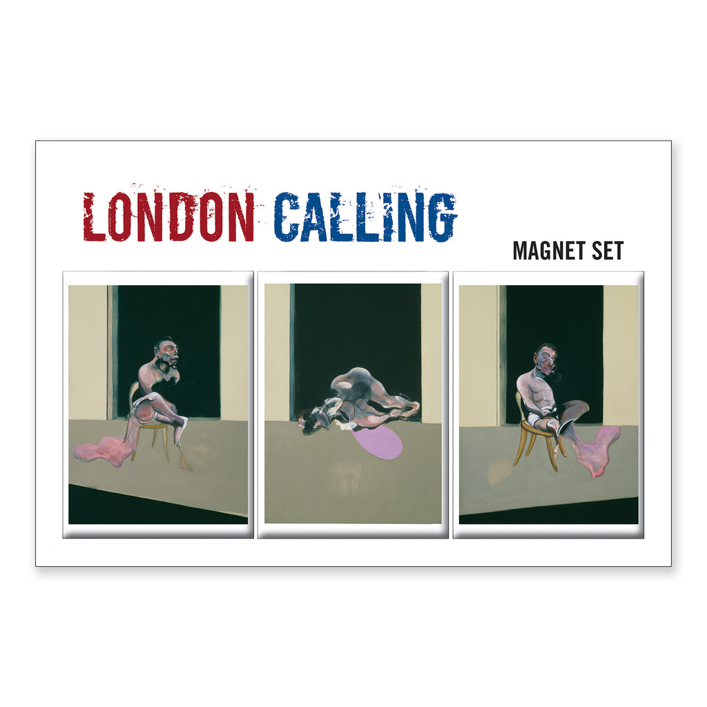 Francis Bacon Magnet Set - <i>Triptych August 1972</i>