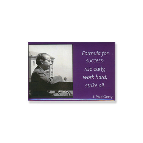 Magnet - Getty Quote - Formula for Success