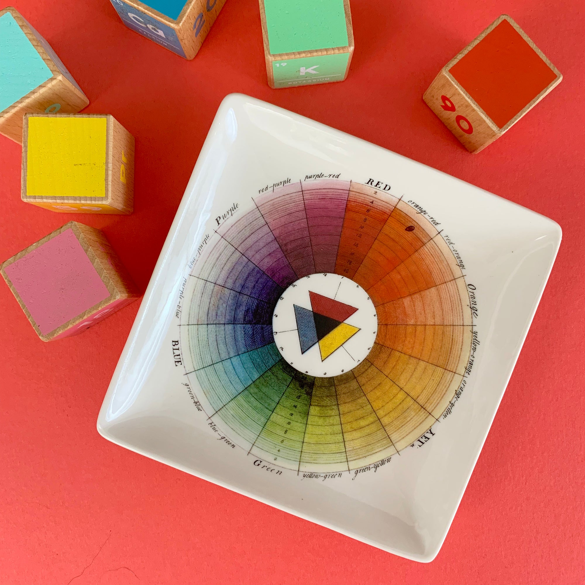 Color Wheel Trinket Tray | Getty Store