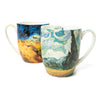 Pair of Fine Bone China Mugs featuring Van Gogh's <i>Wheatfields</i>