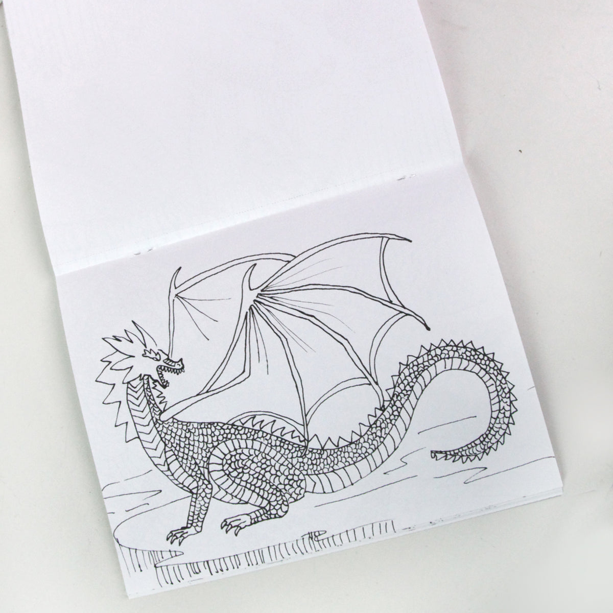 Dragons and Legends Coloring Book | Getty Store