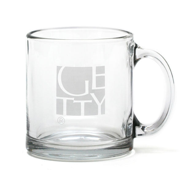 Getty Wordmark Glass Mug
