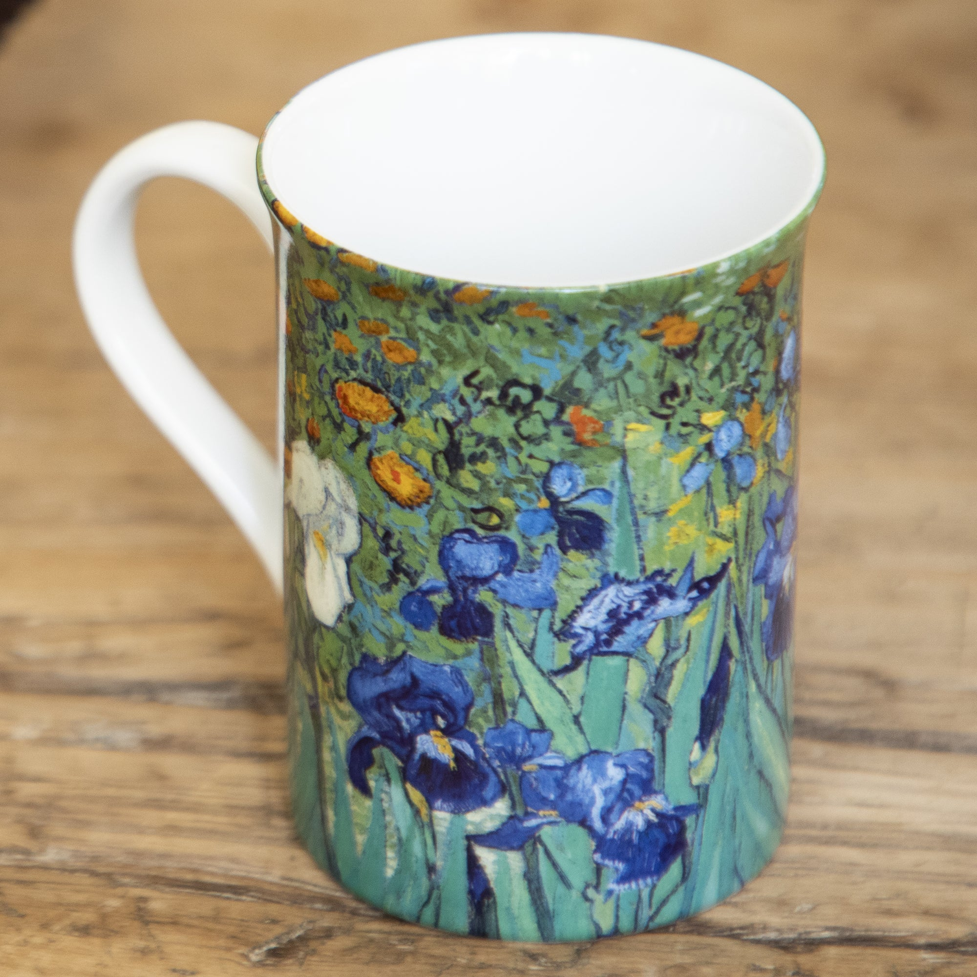 Irises Mug | Getty Store