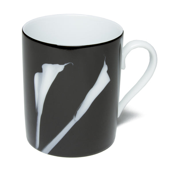 Limoges Porcelain Mug - <i>Calla Lilies</i> by Robert Mapplethorpe