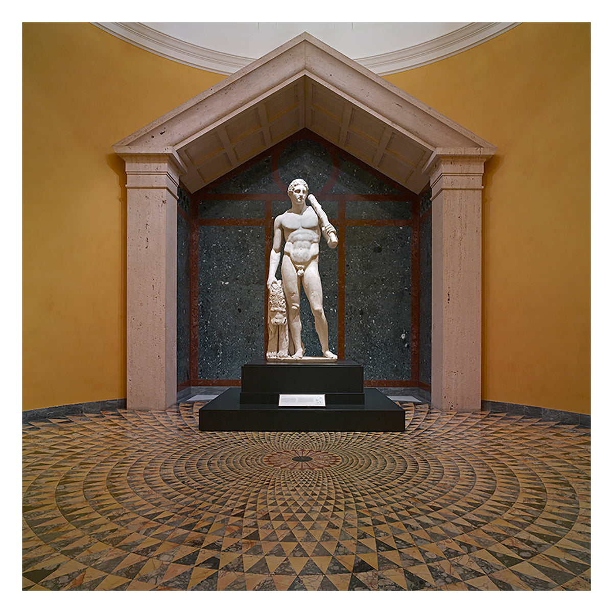 Getty Villa Mosaic Mind Bender Puzzle-Temple of Hercules inspiration for puzzle | Getty Store