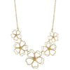 Contour Flowers Necklace