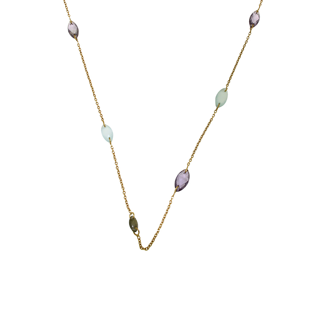 Vermeil and Semi-precious Stone Necklace