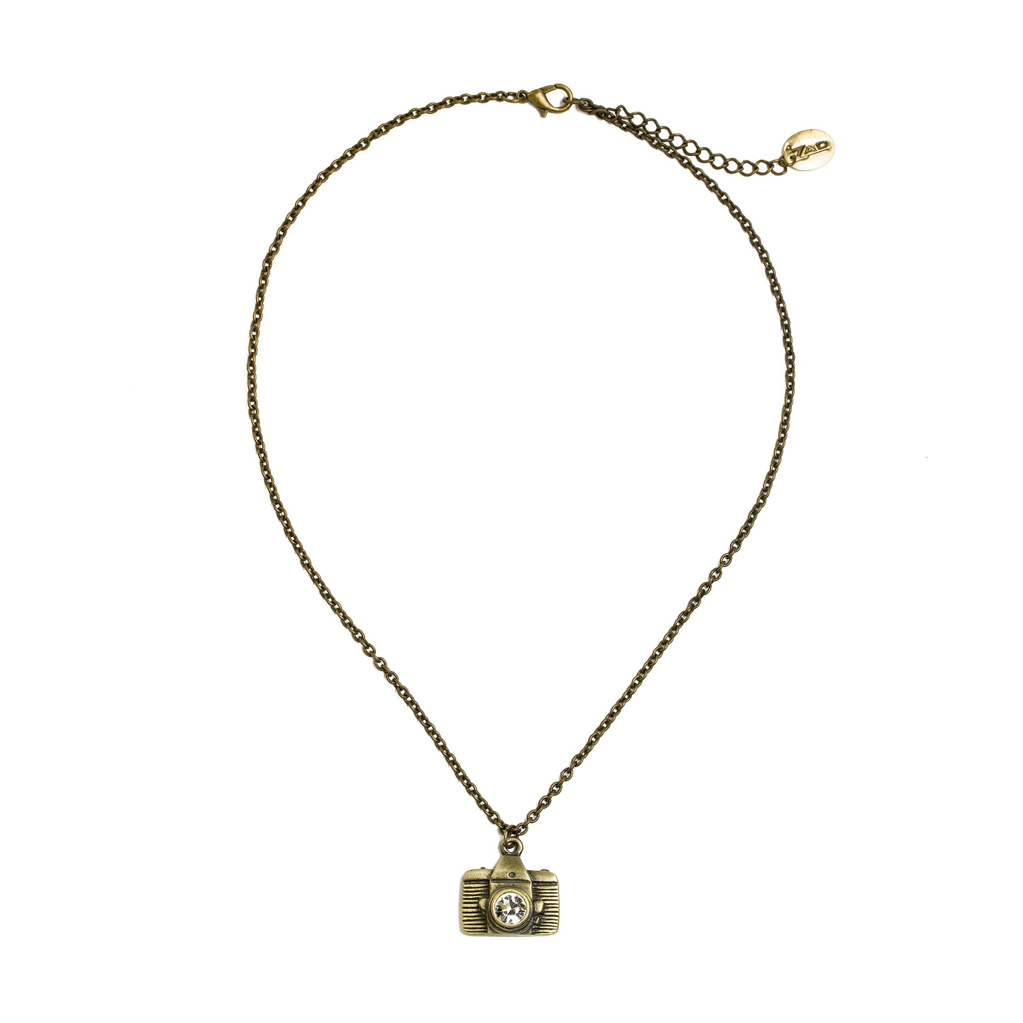 Camera Necklace-Gold Tone | Getty Store