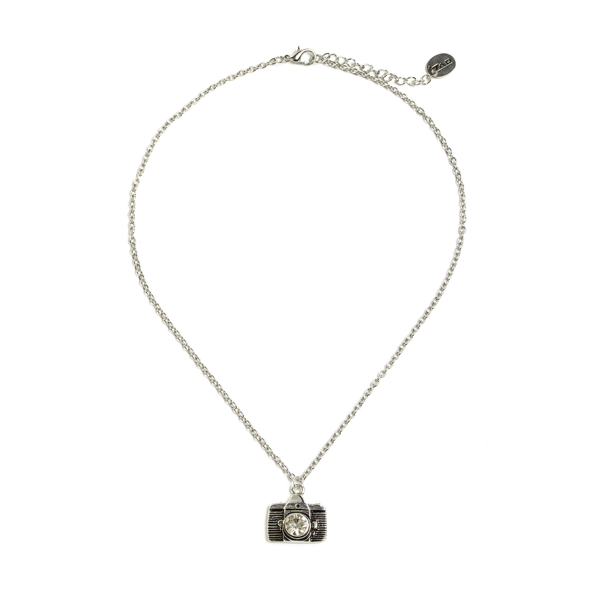 Camera Necklace-Silver Tone | Getty Store