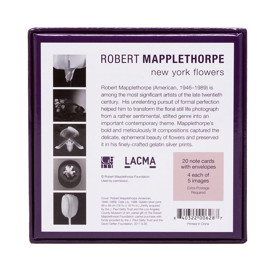 Robert Mapplethorpe New York Flowers Boxed Note Cards
