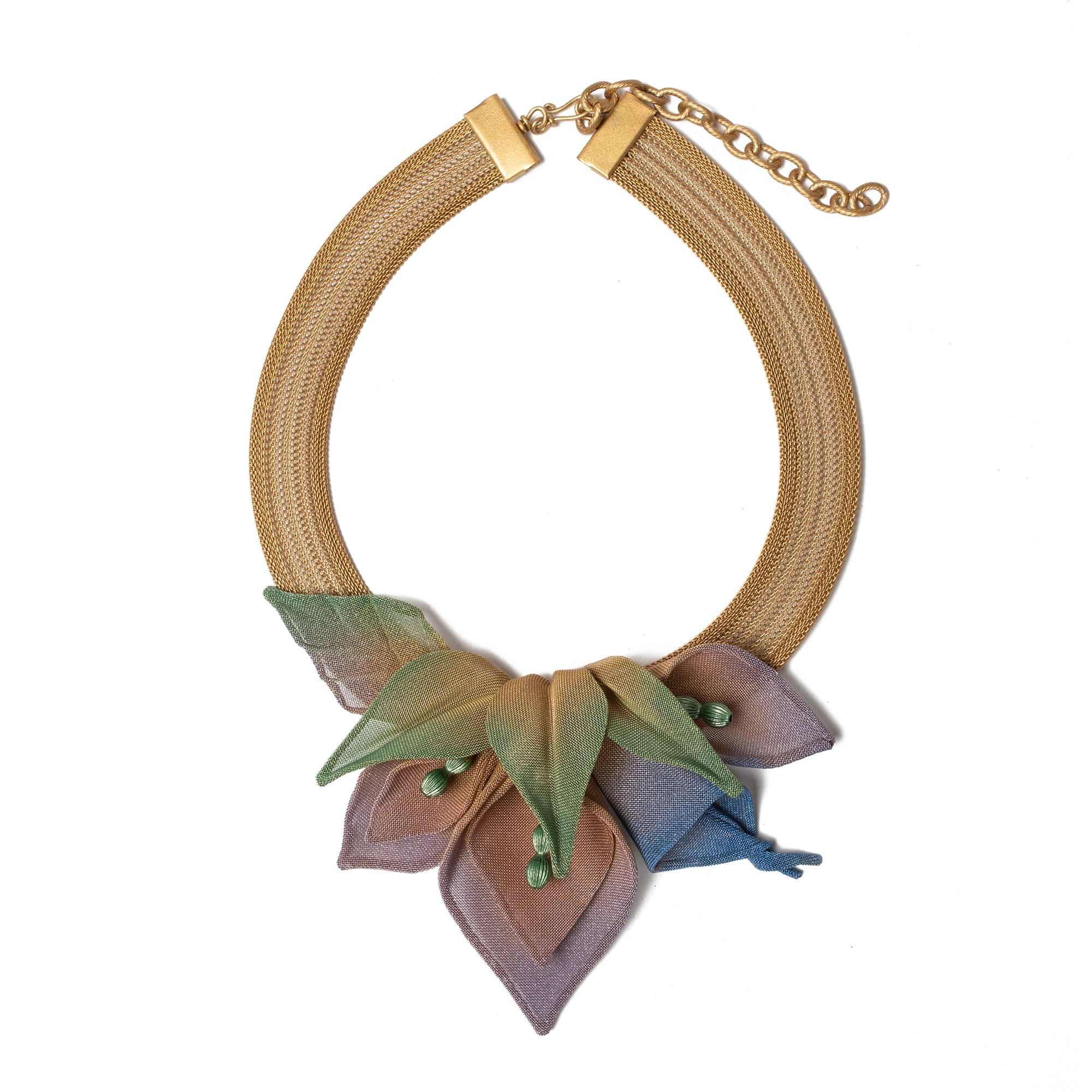 Lily Collage Necklace | Getty Store