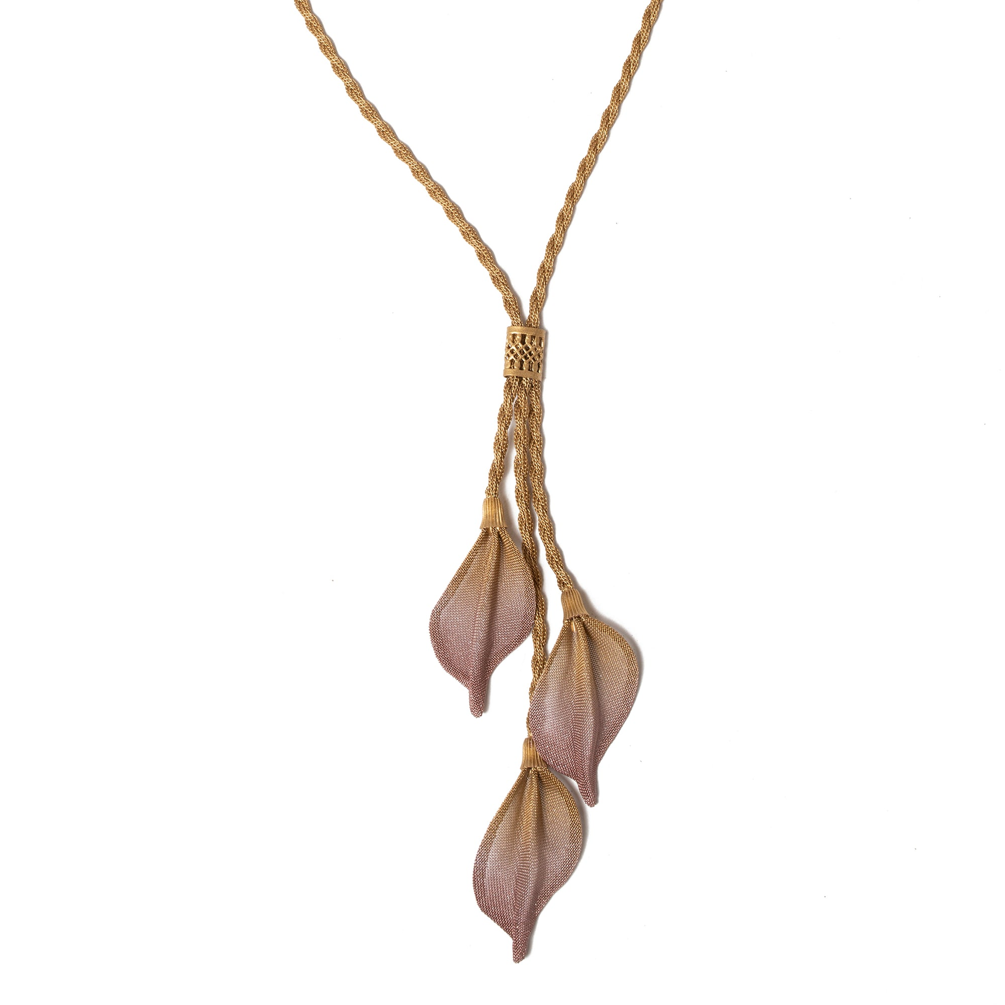 Birch Leaf Dangle Necklace | Getty Store