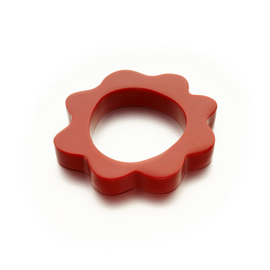 Red Splat Bangle