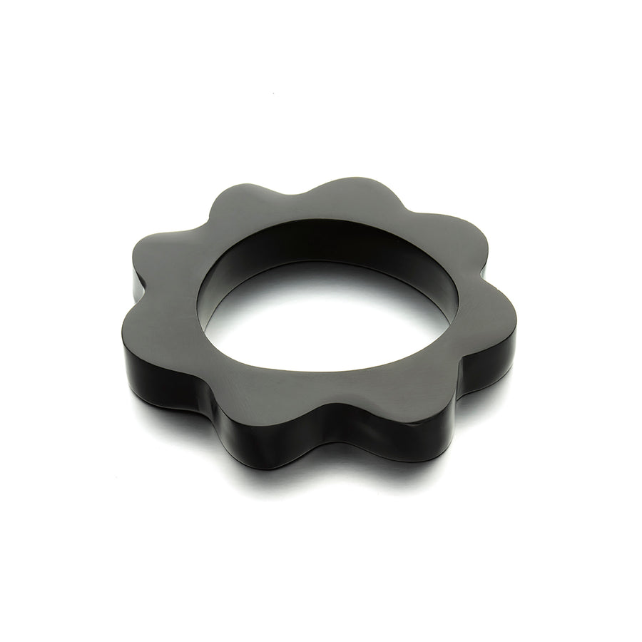 Black Splat Bangle