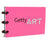 Getty Art Notepad, Pink Notepad | Getty Store