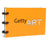 Getty Art Notepad, Orange Notepad | Getty Store