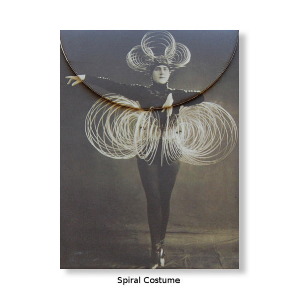 Artful Magnetic Notepads - Spiral Costume