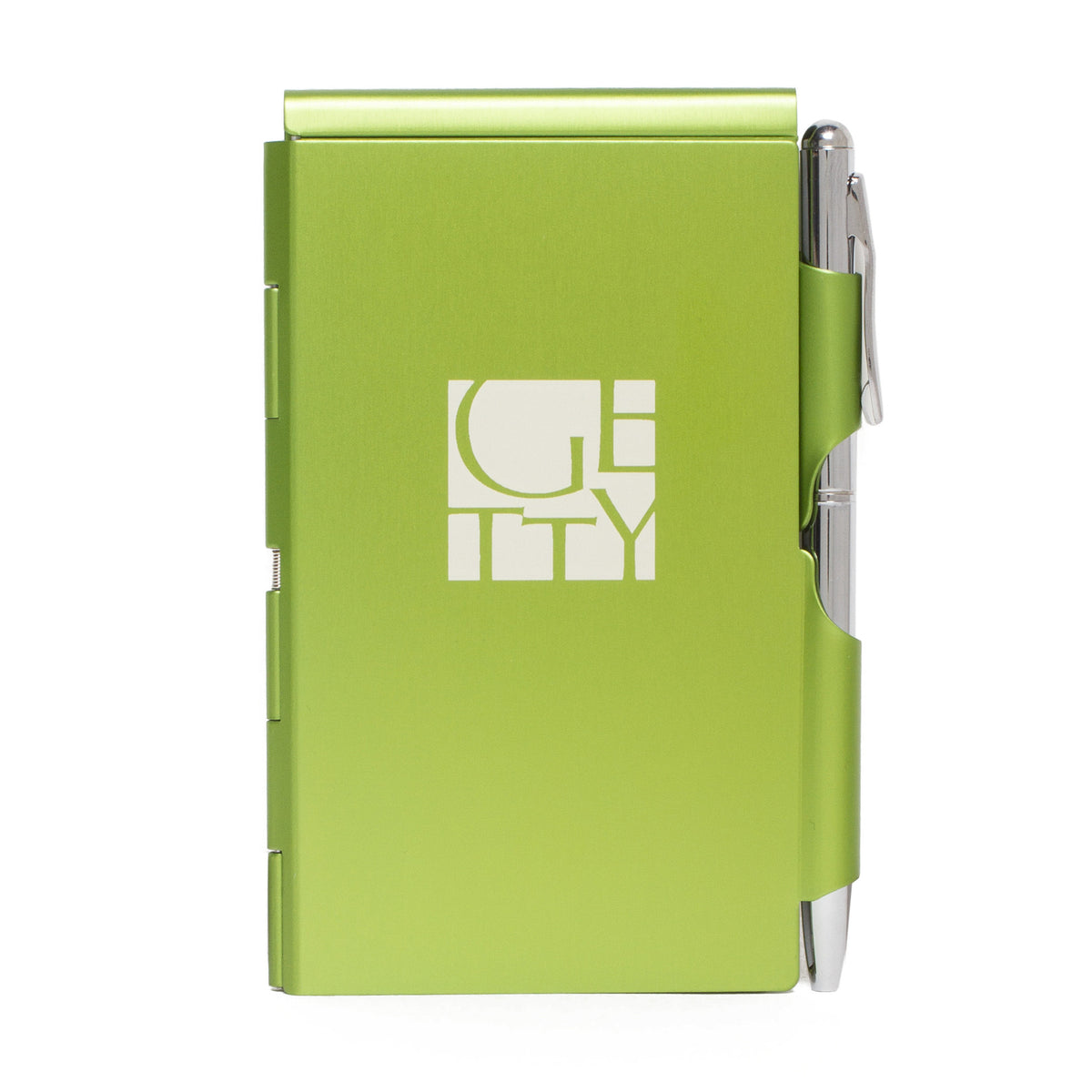 Getty Wordmark Flip Note-Green | Getty Store